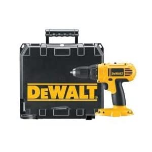 DeWALT DC970 18V Cordless Drill Driver (Bare tool and case only, battery and charger not included)