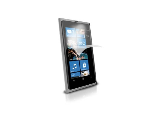 Nokia Lumia 800 Clear Screen Protector (Pack of 3)