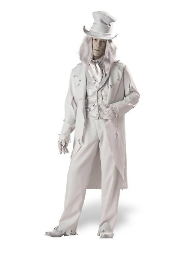 In Character Costumes - Ghostly Gent Adult Large - 38-40
