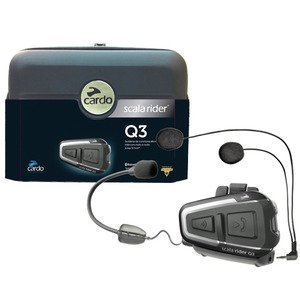 Cardo - Scala Rider Q3 Single - Intercom Bluetooth Headset Black Friday & Cyber Monday 2014