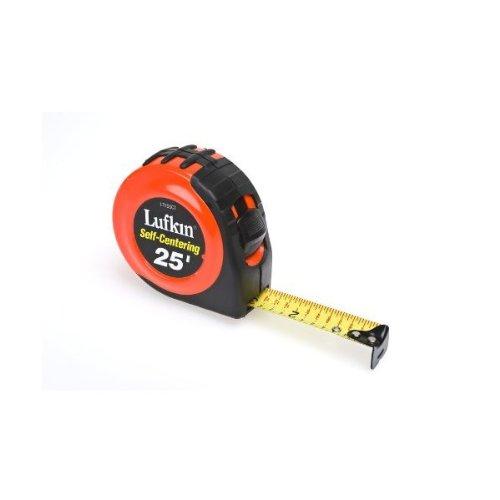 Lufkin HI-VIZ 25' Self-Centering Tape Measure L725SCT