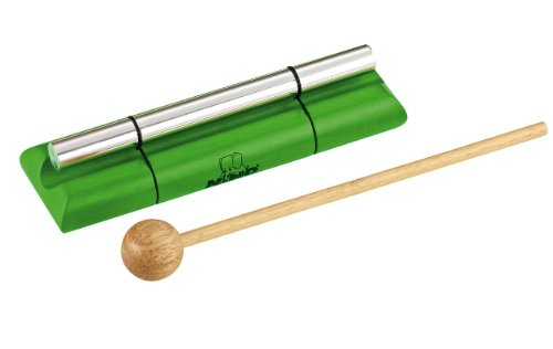 Nino Percussion Nino579M-Gr Medium Handheld Energy Chime, Green