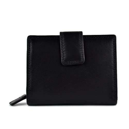 Ladies Quality Compact Soft Leather Purse Wallet by Prime Hide in 5 Colours