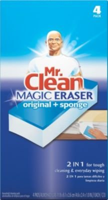 Mr. Clean Duo Magic Eraser, 4 Count