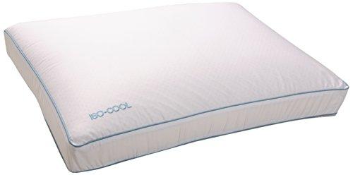 Sleep Better Iso-Cool Memory Foam Pillow, Gusseted Side Sleeper ,Standard