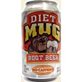 Mug Root Beer Diet 12 FL OZ (355 ml) X 24