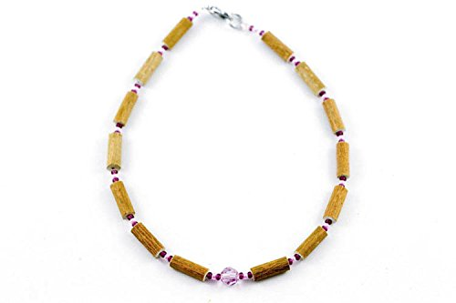 Healing Hazel Hazelwood Children Necklace Girl Pendant, Purple Swarovski Crystal Pendant Purple/Light Pink