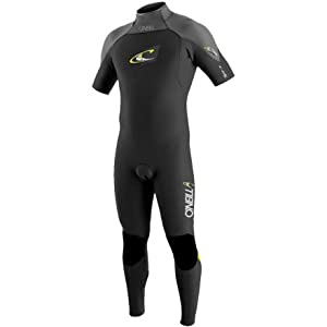 O'Neill Gooru GBS 2mm Short Sleeve Full Wetsuit (Black, X-Large)