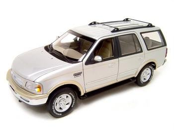 Buy FORD EXPEDITION EDDIE BAUER EDITION 1:18 SILVER MODEL