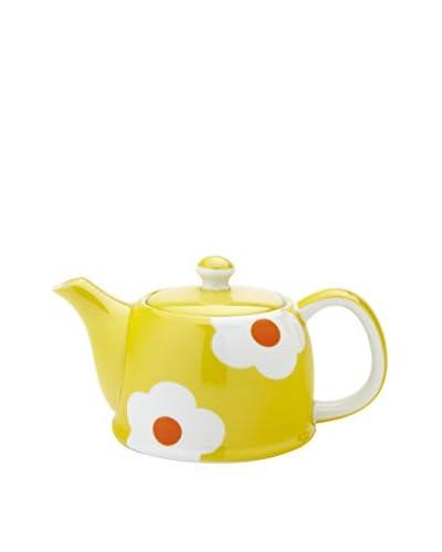 Classic Coffee & Tea by YEDI Daisy 20-Oz. Teapot, Yellow