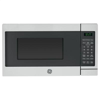 GE JES1072SHSS 0.7 Cu. Ft. Capacity Countertop Microwave Oven in Stainless Steel (Ge Small Oven compare prices)