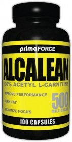 PRIMAFORCE ALCALEAN 500MG 100 CAPSULES- Fat Burning Capsules