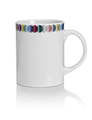 Graphic Spotted Mug