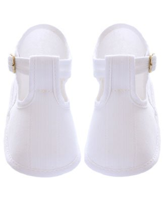 Image of R: Confetti White Canvas Booties (B0032YTCI2)