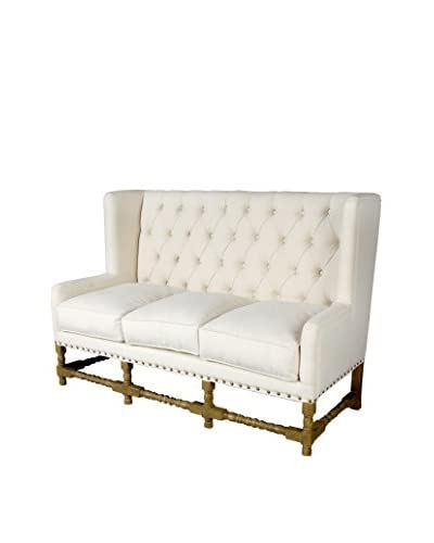 Donny Osmond Home Sofa, Ivory