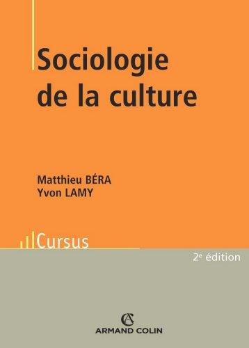 Sociologie de la culture
