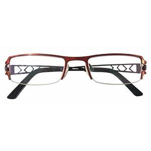 Rimless Glasses Fix : HALF RIM EYEGLASS FRAMES Glass Eye