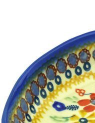 polmedia-polish-pottery-5-inch-stoneware-spoon-rest-h3349f-hand-painted-from-manufaktura-in-boleslaw
