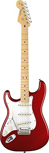 Fender American Standard Stratocaster, Left Handed, Maple Fingerboard, Mystic Red