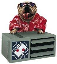 modine hd45ah01 34 hot dawg 45000 btu garage heater with. Black Bedroom Furniture Sets. Home Design Ideas