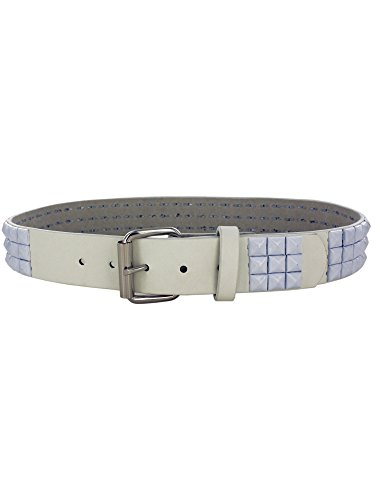 Large White Pyramid Studded Belt (Hoover Handbag compare prices)