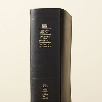 LDS Quad (Holy Bible, Book of Mormon, Doctrine and Covenants, and Pearl of Great Price) (Lds Compact Quad compare prices)
