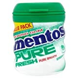 Mentos Pure Fresh Chewing Gum Sugarfree Spearmint with Green Tea 56g