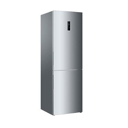 Haier C2FE636CSJ réfrigérateur-congélateur - réfrigérateurs-congélateurs (Autonome, Bas-placé, A+, Argent, SN, T, LED)