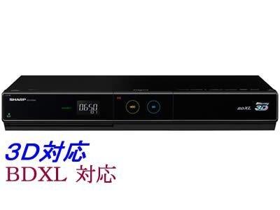 【Amazonの商品情報へ】SHARP AQUOS 3D対応ブルーレイディスクレコーダー HDD500GB BD-HDS65