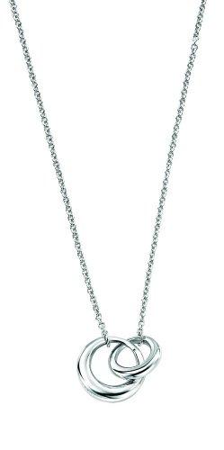Elements Sterling Silver N2832 Ladies Interlocking