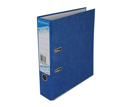 ryman-select-lever-arch-files-a4-pack-of-10-color-ocean-blue