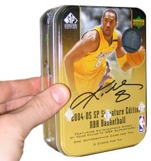 2004/05 Upper Deck SP Signature Basketball HOBBY Tin (Box) - 1P3C