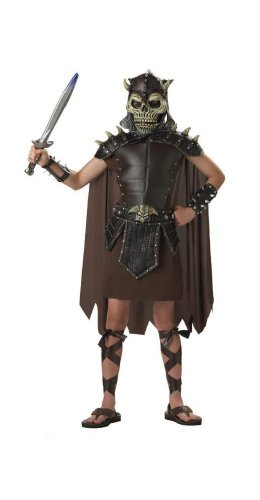Skulltar the Barbarian Child Halloween Costume Size 12-14