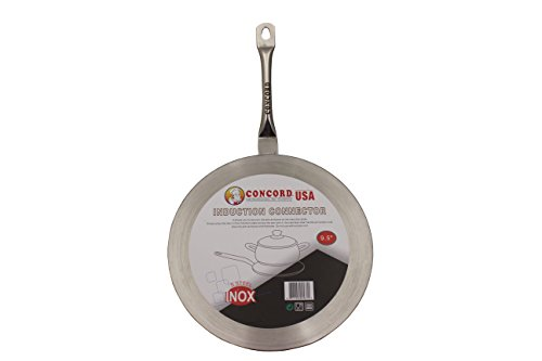 Concord Induction Disk Stainless Steel Plate (11