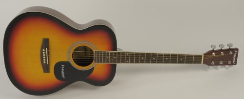 Westfield B200 Folk Size Acoustic Guitar Pack - Brand New - Sunburst