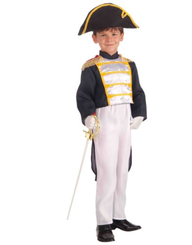 Colonial General Child Costume, Small