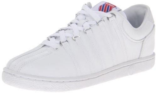 K-Swiss 801 Classic Tennis Shoe (Big Kid),White,5 M Us Big Kid