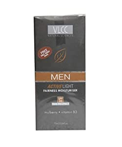 VLCC Men Active Light SPF 20 Fairness Moisturiser, 100ml