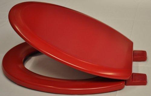 Bemis-Red-Coloured-Toilet-Seat
