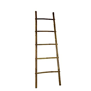 "Bamboo Ladder Rack, 72H"""