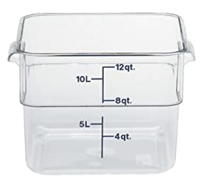 Amazon Com Camwear Polycarbonate Square Food Storage