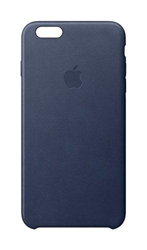 Apple MKXU2ZM/A Leder Schutzhülle für Apple iPhone 6S  mitternachtsblau