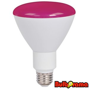 dimmable led br30 pink flood light bulb 9 watts pink supra. Black Bedroom Furniture Sets. Home Design Ideas