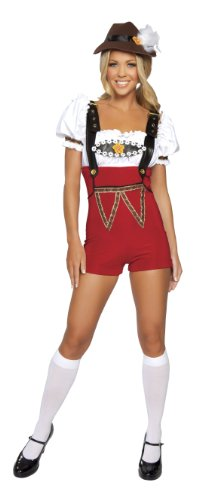 Roma Costume 4 Piece Beer Stein Babe Costume
