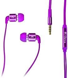 iDance 2LOUD50 In-Ear Headphone with Mic (Purple)