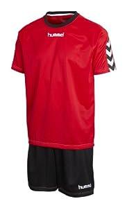 Hummel Bee Authentic Ensemble maillot et short mixte Rouge Rouge/noir X-Large