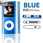 8GB Navy Blue Mp3 and Mp4 Player in 1...