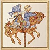 Bucilla(R) Counted Cross-Stitch Kit - Holly Hobbie Carousel Horse