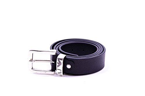 Armani Jeans 931508CC886-Cintura Uomo    Nero (Nero 00020) 100 cm