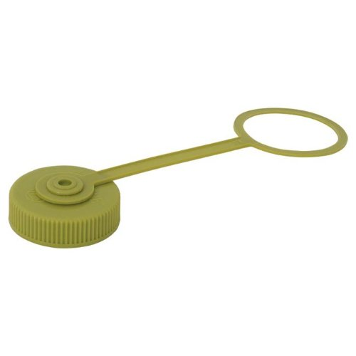 Nalgene Wide Mouth Bottle With Lid (Spring Green, 1-Pint) front-484647